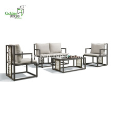 4 st aluminium ny design rotting soffa set